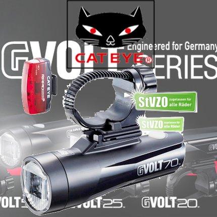 Cateye GVOLT 70.1 Fahrradbeleuchtung