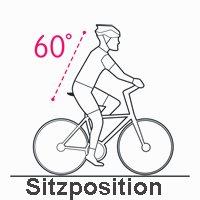 Selle Icon Sitzposition 60 Grad
