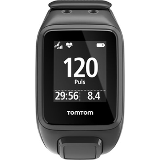 TomTom Runner 2 Cardio black anthracite Large