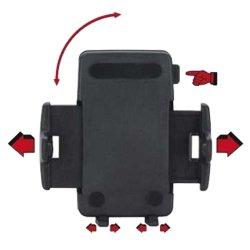 Fahrradhalter mit Kugelgelenk Lenkermontage für GPS und Smartphone