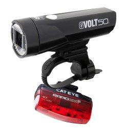 Cateye Beleuchtungskit GVolt 50 RC + Rapid micro G