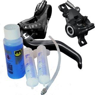 Magura Hydraulische Scheibenbremse MT4 Set + Entlüftungs-Kit