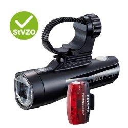 Cateye Beleuchtungskit  GVolt 70.1 + Rapid Micro G