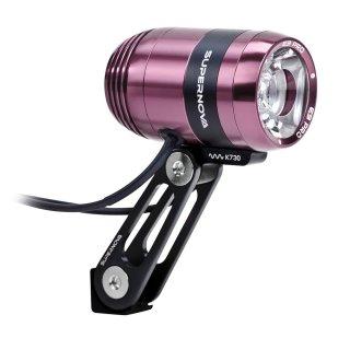 Supernova E3 Pro 2 Dynamoscheinwerfer pink