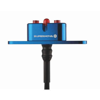 SUPERNOVA E3 Tail Light 2 Dynamorücklicht für Gepäckträgermontage blau