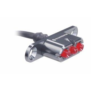 SUPERNOVA E3 Tail Light 2 Dynamorücklicht für Gepäckträgermontage grau