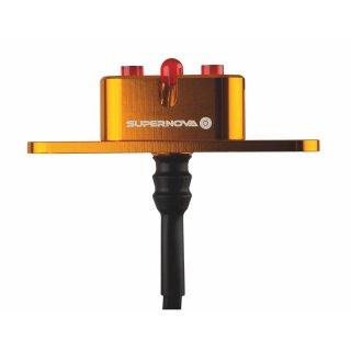 SUPERNOVA E3 Tail Light 2 Dynamorücklicht für Gepäckträgermontage orange