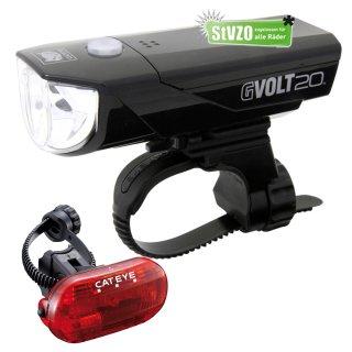 Cateye Beleuchtungsset  GVolt 20 RC GVOLT 20 RC OMNI 3G