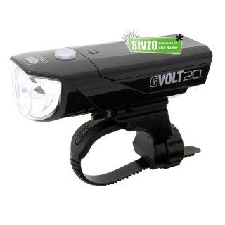 Cateye Beleuchtungsset  GVolt 20 RC GVOLT 20 RC ohne Rückleuchte