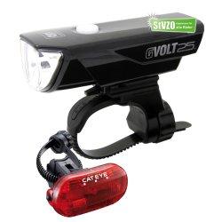 Cateye Beleuchtungskit GVolt 25 + OMNi 3G