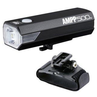 Cateye Helmlampe AMPP 500
