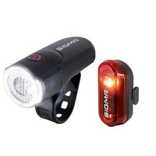 SIGMA LED-Aura 30 Beleuchtungs Set inkl. Rücklicht Curve